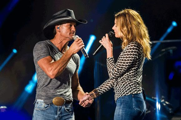Tim McGraw & Faith Hill at Allstate Arena
