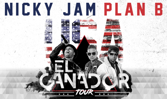 Nicky Jam & Plan B at Allstate Arena