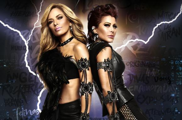 Gloria Trevi & Alejandra Guzman at Allstate Arena