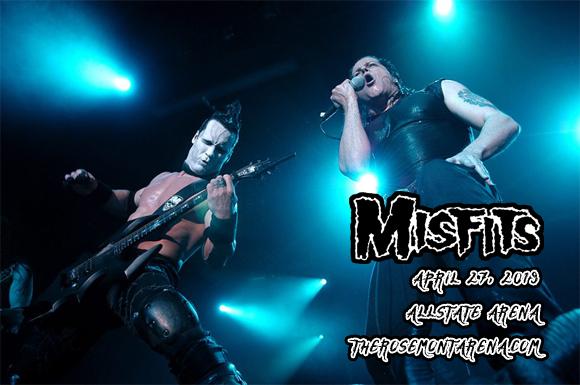Misfits at Allstate Arena