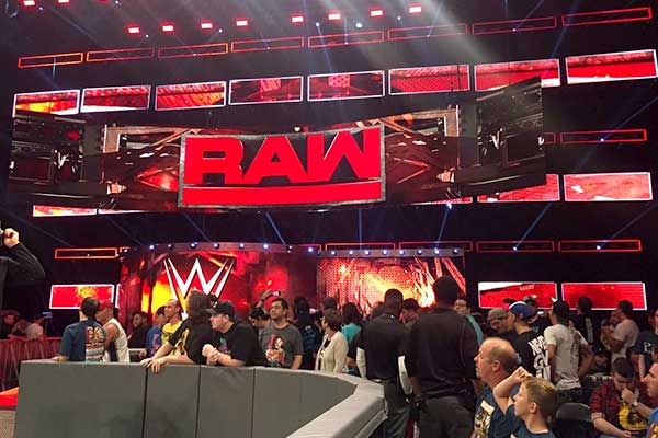WWE Raw at Allstate Arena