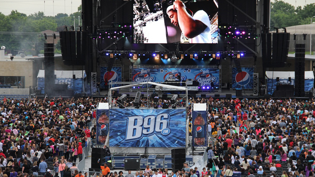 B96 Pepsi Summer Bash at Allstate Arena