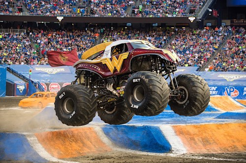 Monster Jam Triple Threat Series at Allstate Arena