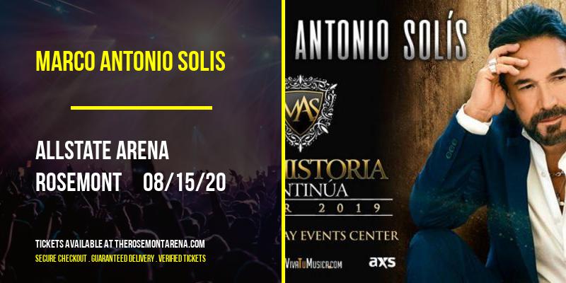 Marco Antonio Solis at Allstate Arena