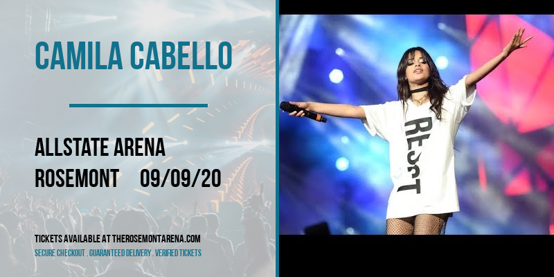 Camila Cabello at Allstate Arena