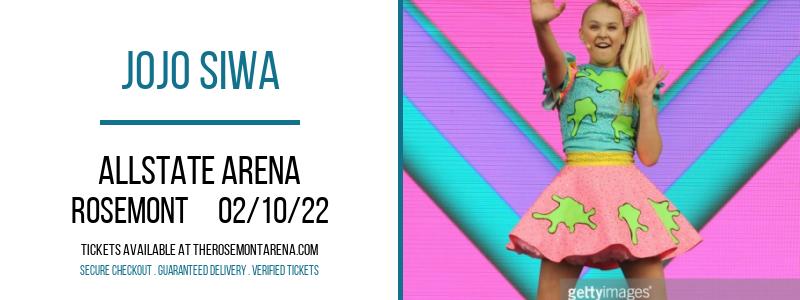 JoJo Siwa at Allstate Arena