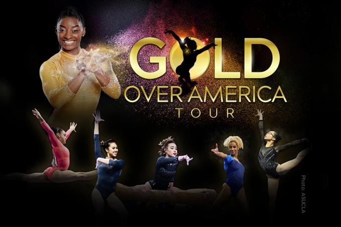 Gold Over America Tour: Simone Biles at Allstate Arena