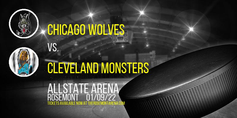Chicago Wolves vs. Cleveland Monsters at Allstate Arena
