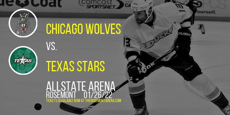 Chicago Wolves vs. Texas Stars at Allstate Arena