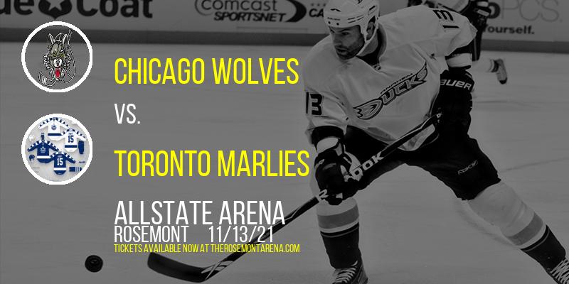 Chicago Wolves vs. Toronto Marlies at Allstate Arena