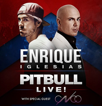 Enrique Iglesias, Pitbull & CNCO at Allstate Arena