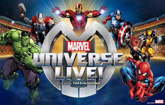 Marvel Universe Live! at Allstate Arena