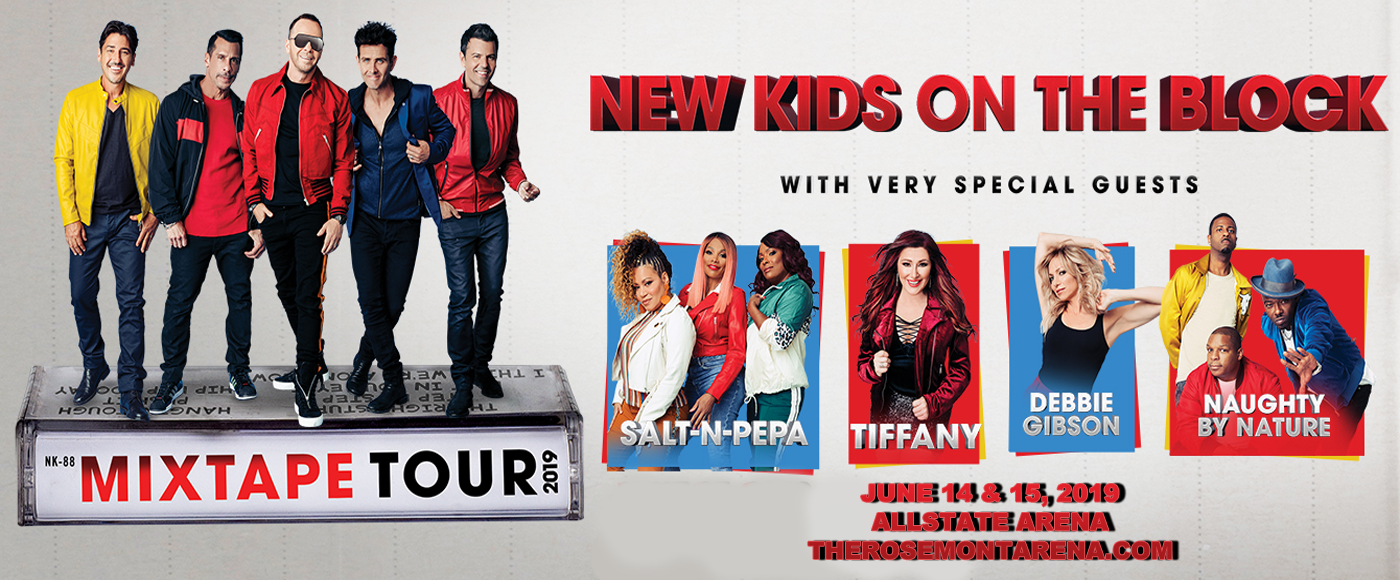 New Kids On The Block, Salt N Pepa & Naughty by Nature at Allstate Arena