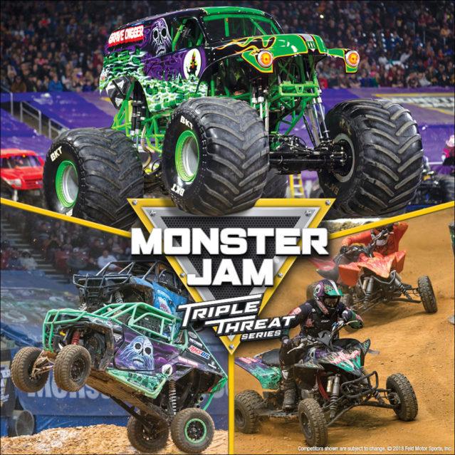Monster Jam Triple Threat Series at Allstate Arena